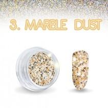 Marble Dust Oranje effect