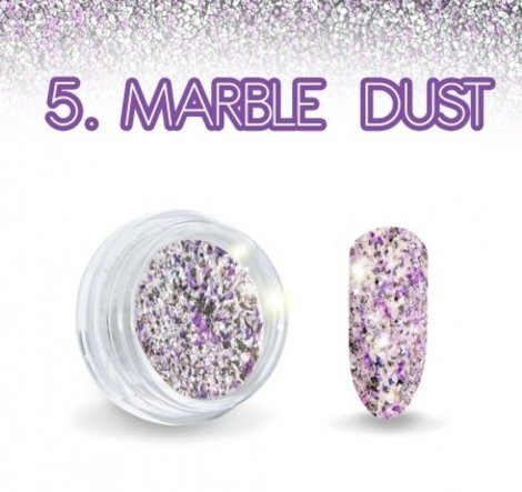 Marble Dust Paars effect