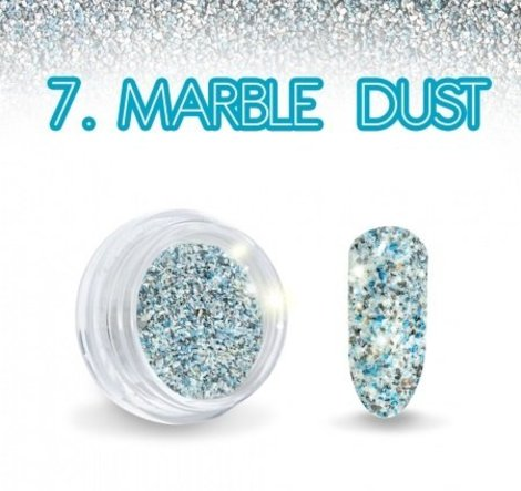 Marble Dust Turquoise effect