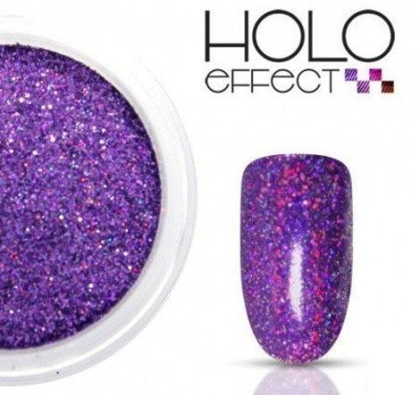 Holo Effect glitters Paars