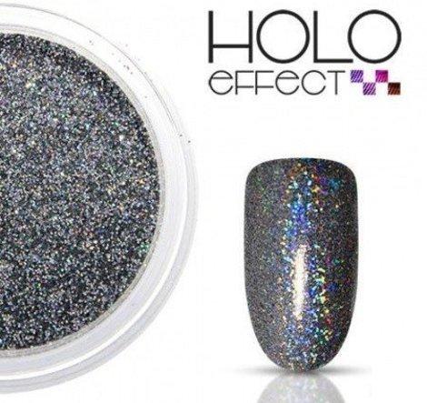 Holo Effect glitters Zwart
