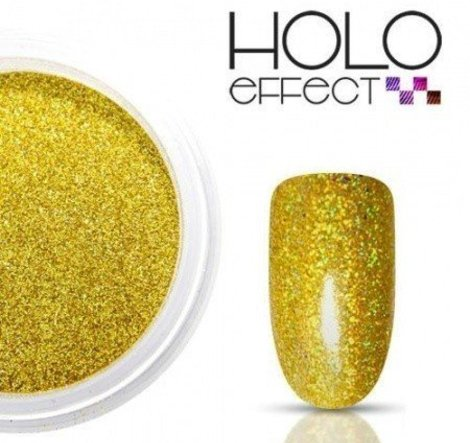 Holo Effect glitters Goud