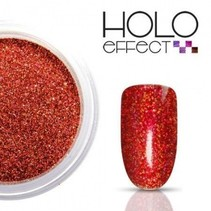 Holo Effect glitters Rood
