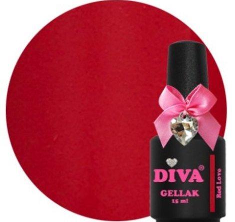 Diva gellak Red Love 15 ml