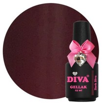 Diva gellak Dark Diva 15 ml