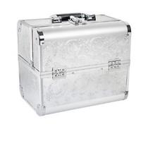 Grote koffer Aluminium Zilver