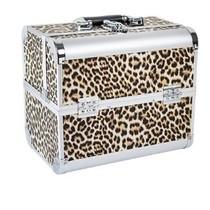 Nagel Koffer groot Luipaard print