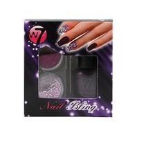 W7 Nail Bling set: Purple Point