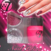W7 Nail Bling set: Pink
