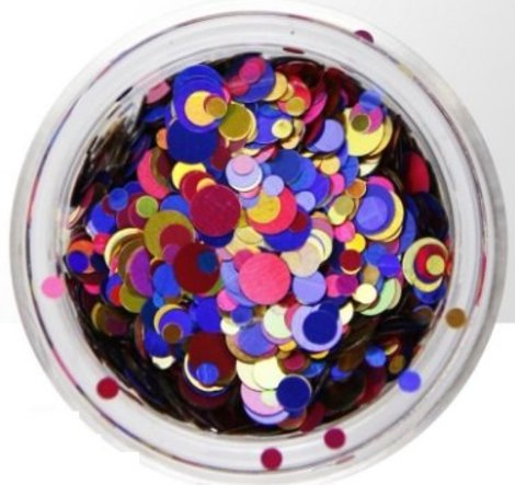 Nail art  Confetti 12