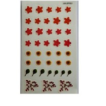 Sticker nail art  Bloemen
