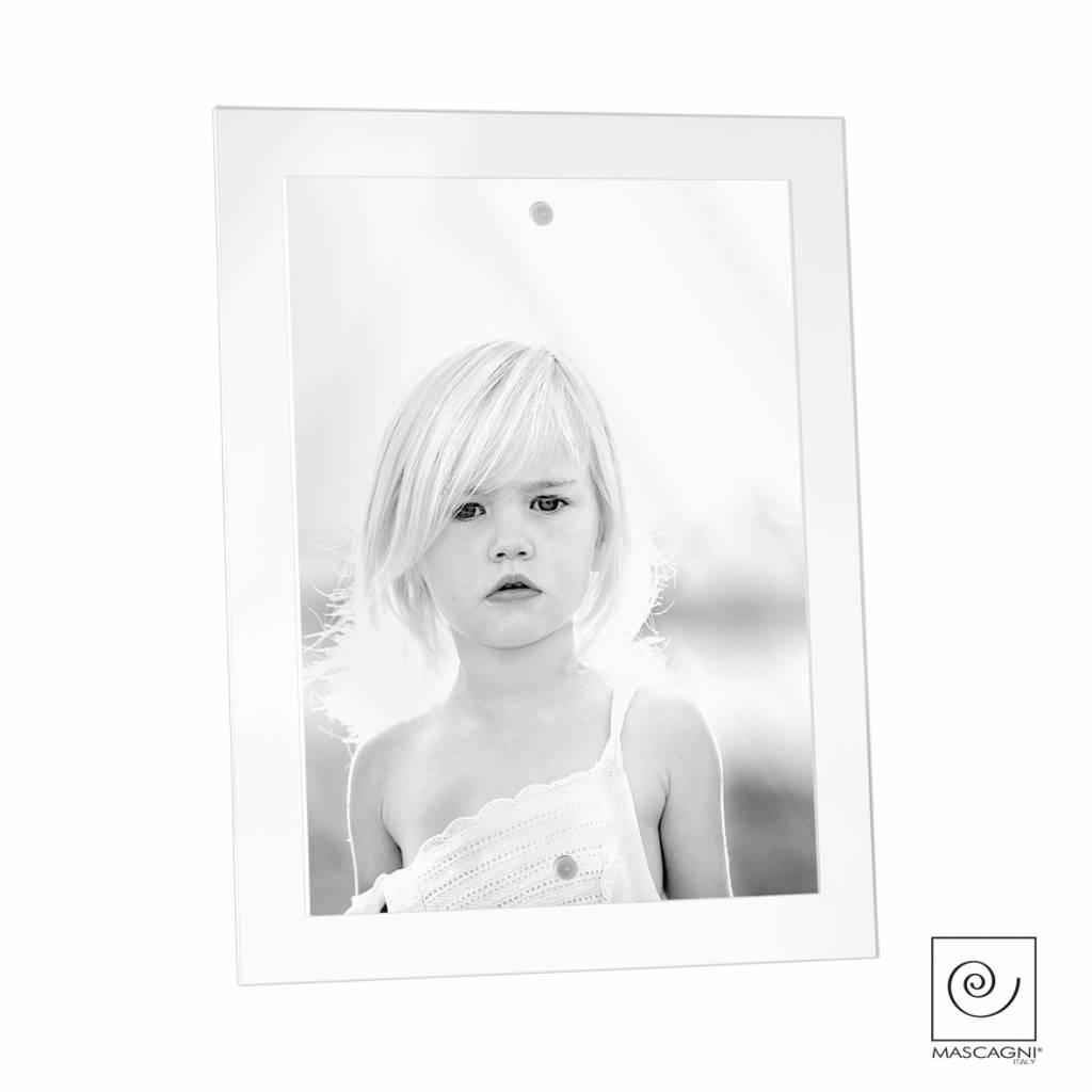 Mascagni A511 acrylaat fotolijst wit