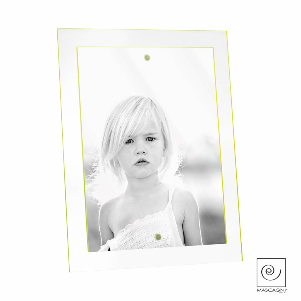 Mascagni A512 acrylaat fotolijst groen