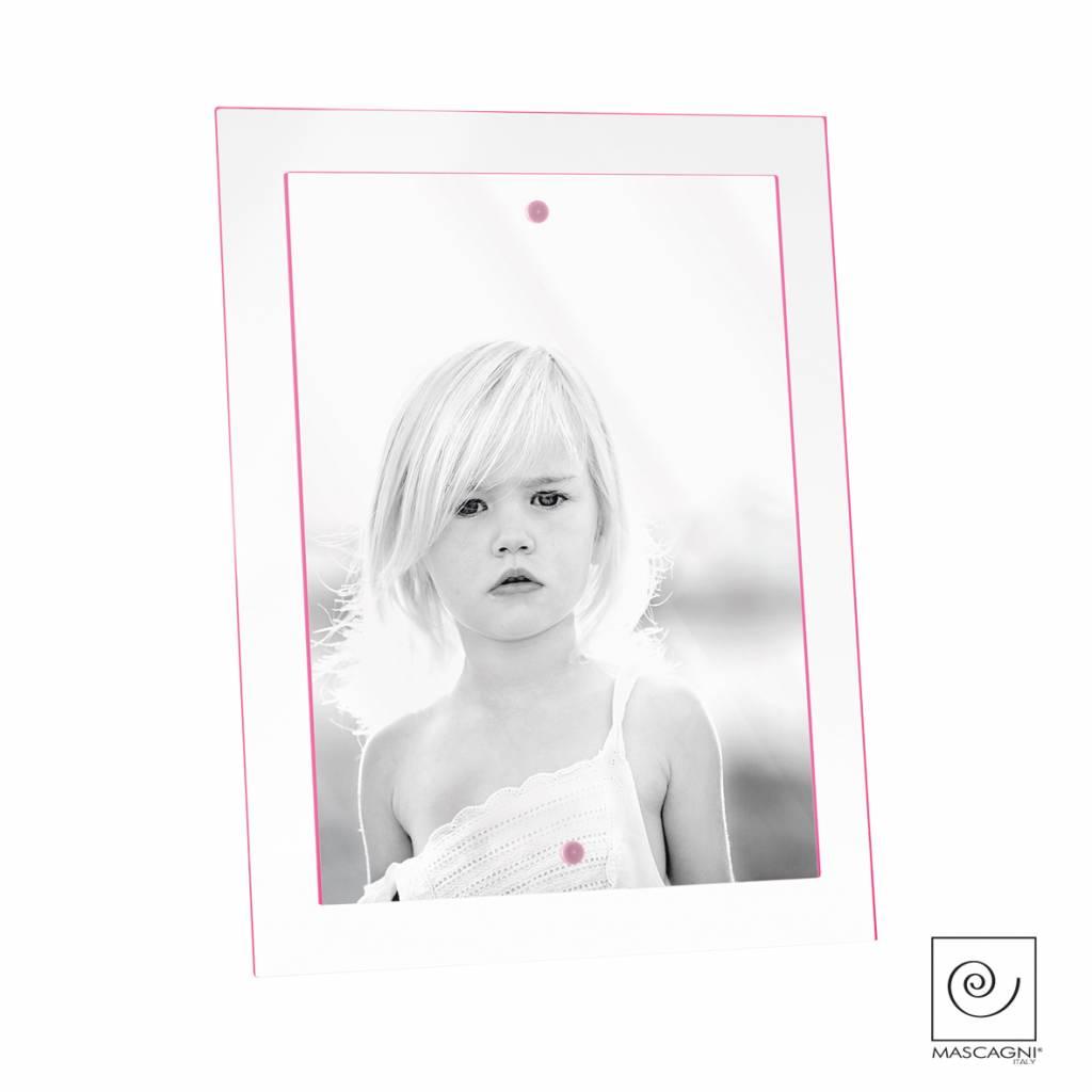 Mascagni A511 acrylaat fotolijst fuchsia