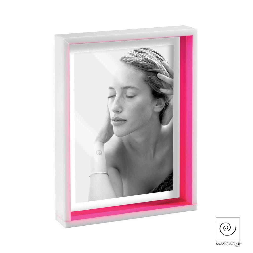 Mascagni A662 Acrylaat fotolijst paars/fuchsia
