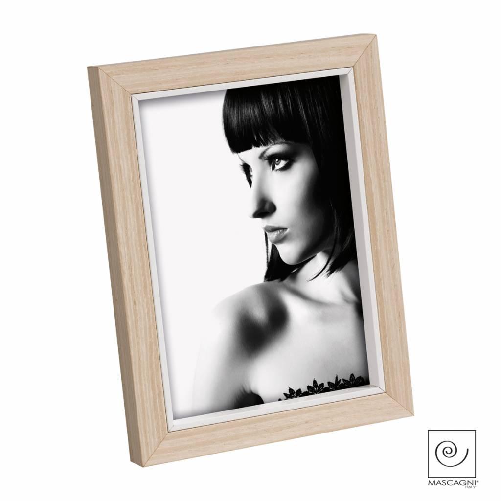 Mascagni A372 houten fotolijst wit