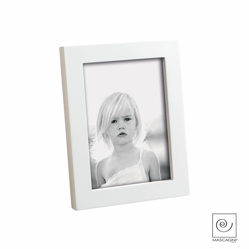 Mascagni A397 houten fotolijst wit