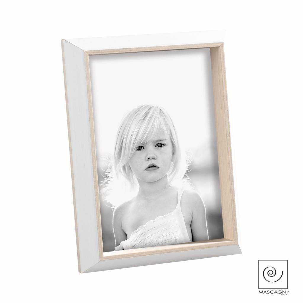 Mascagni A544 houten fotolijst wit