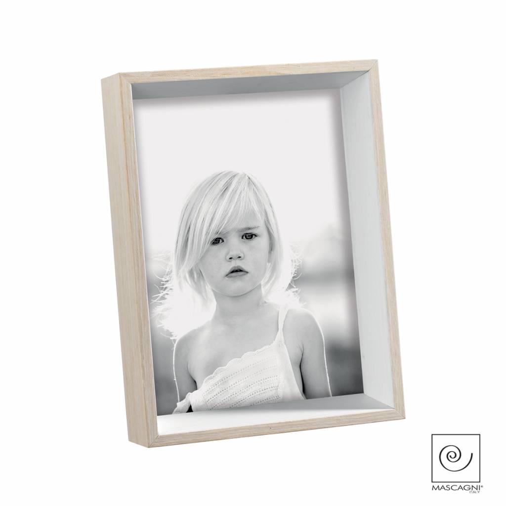 Mascagni A545 houten fotolijst wit