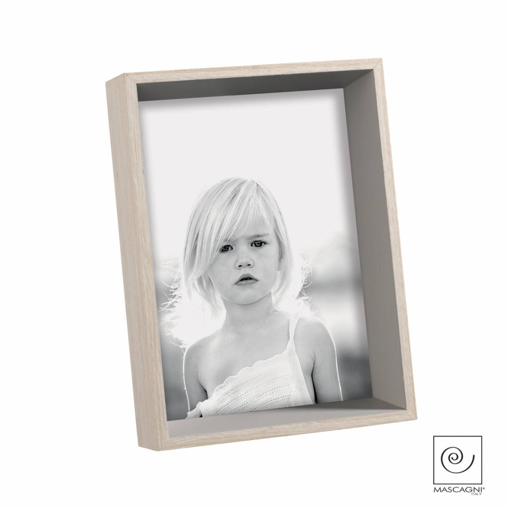 Mascagni A545 houten fotolijst grijs
