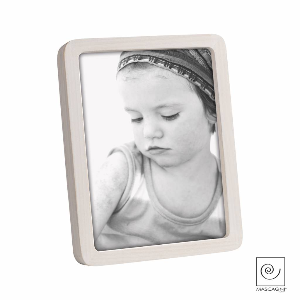 Mascagni A599 houten fotolijst white wash
