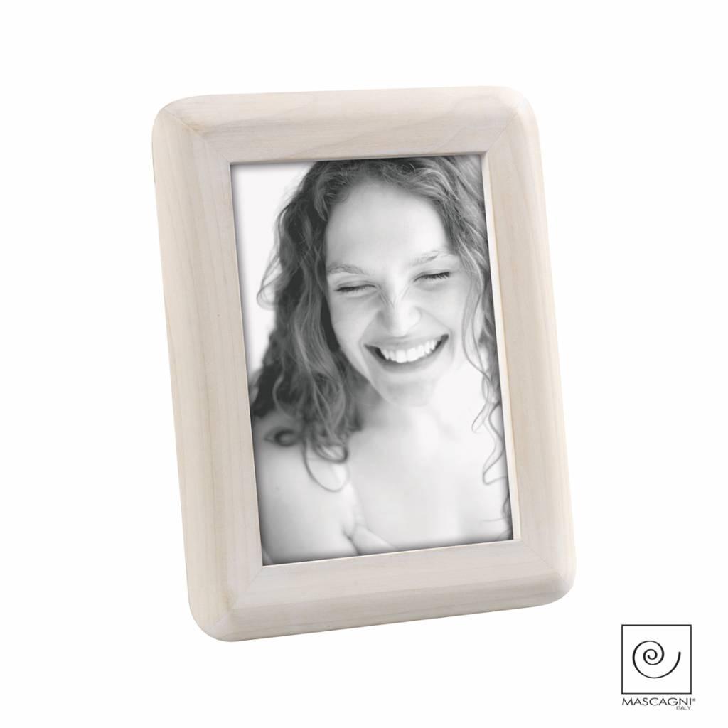 Mascagni A600 houten fotolijst white wash