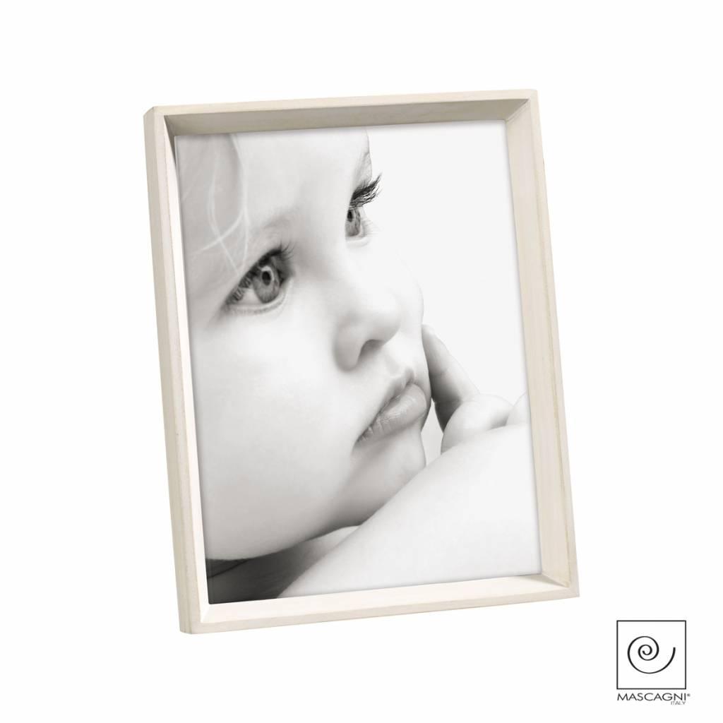 Mascagni A754 houten fotolijst white wash