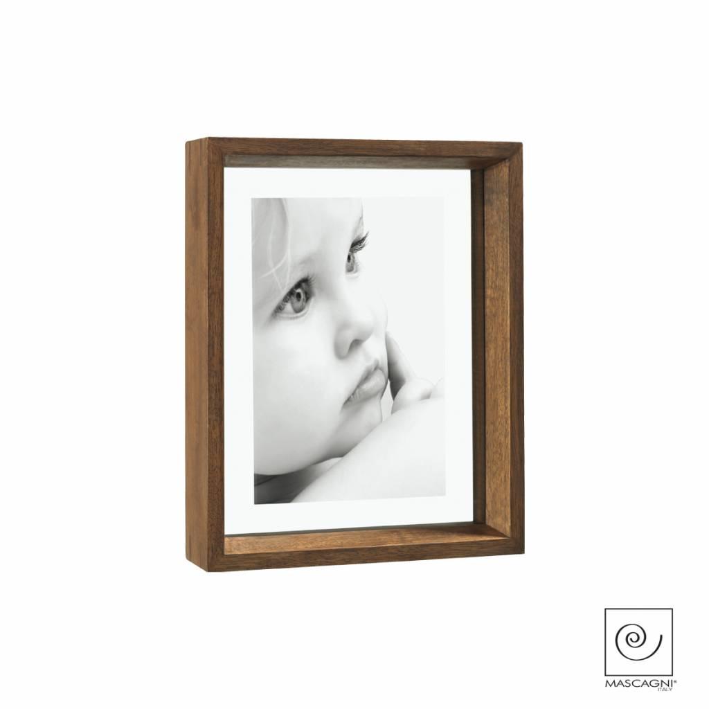 Mascagni A756 houten fotolijst wengé