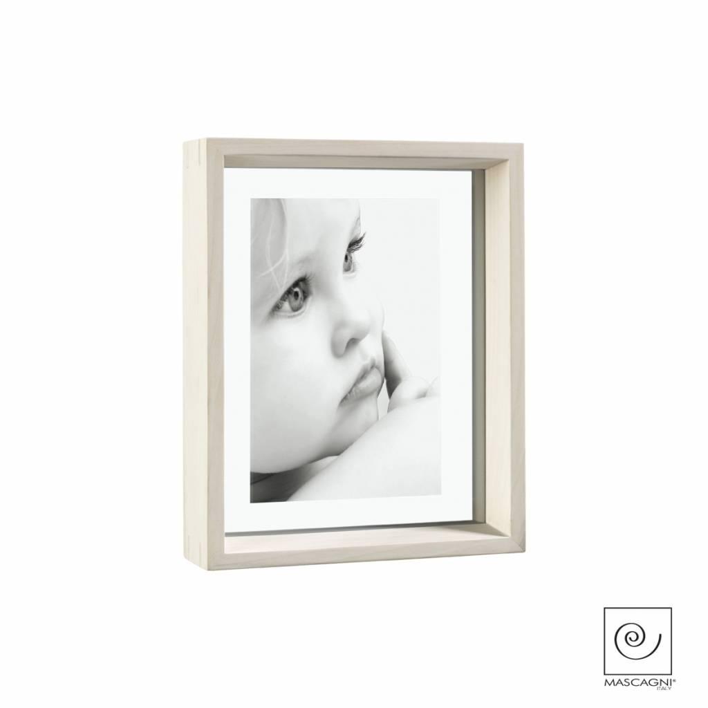 Mascagni A756 houten fotolijst white wash