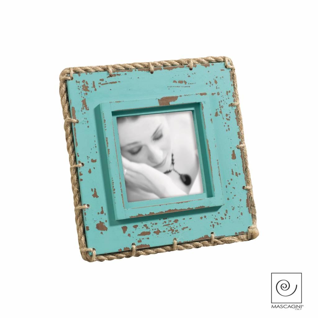 Mascagni A762 houten fotolijst blauw