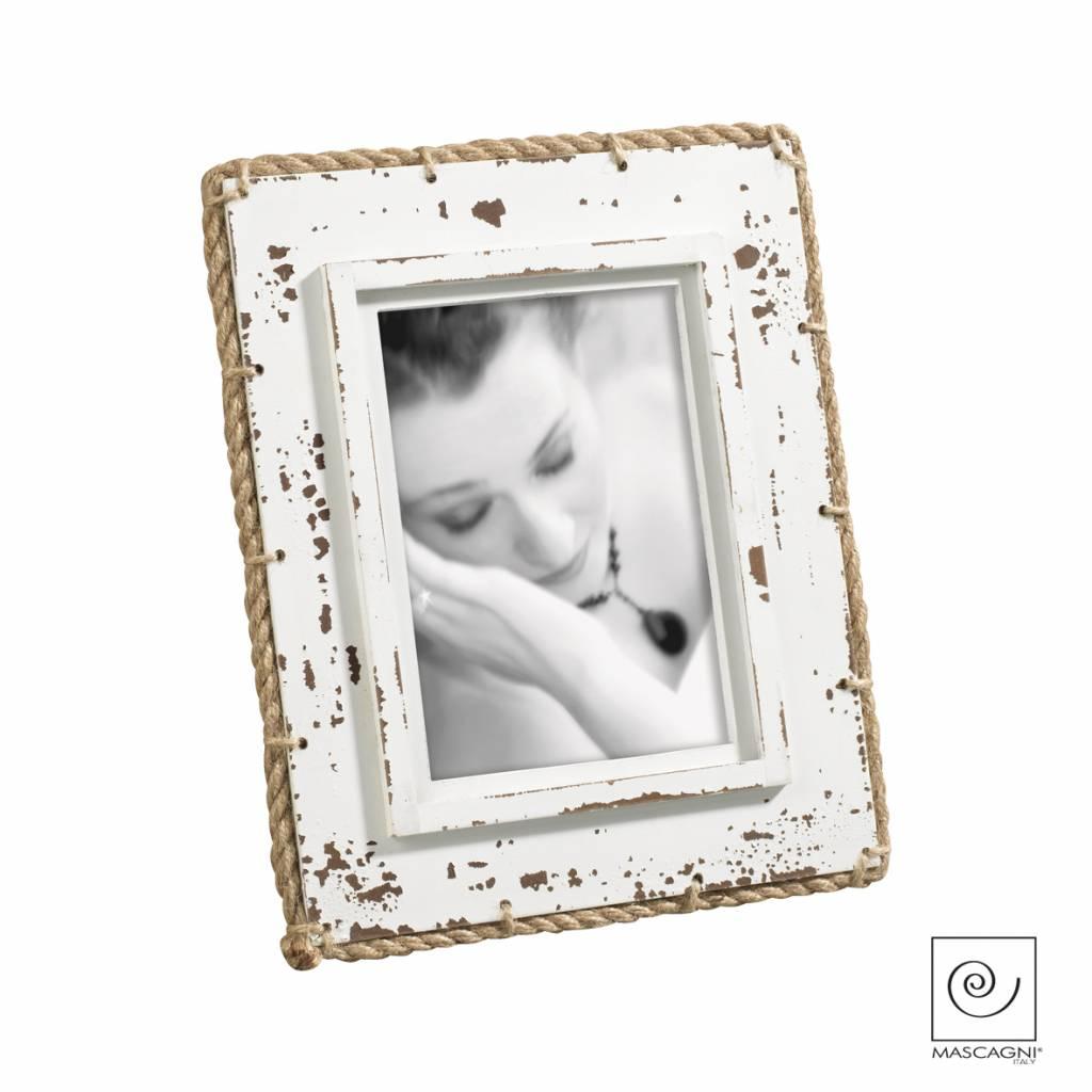 Mascagni A762 houten fotolijst wit
