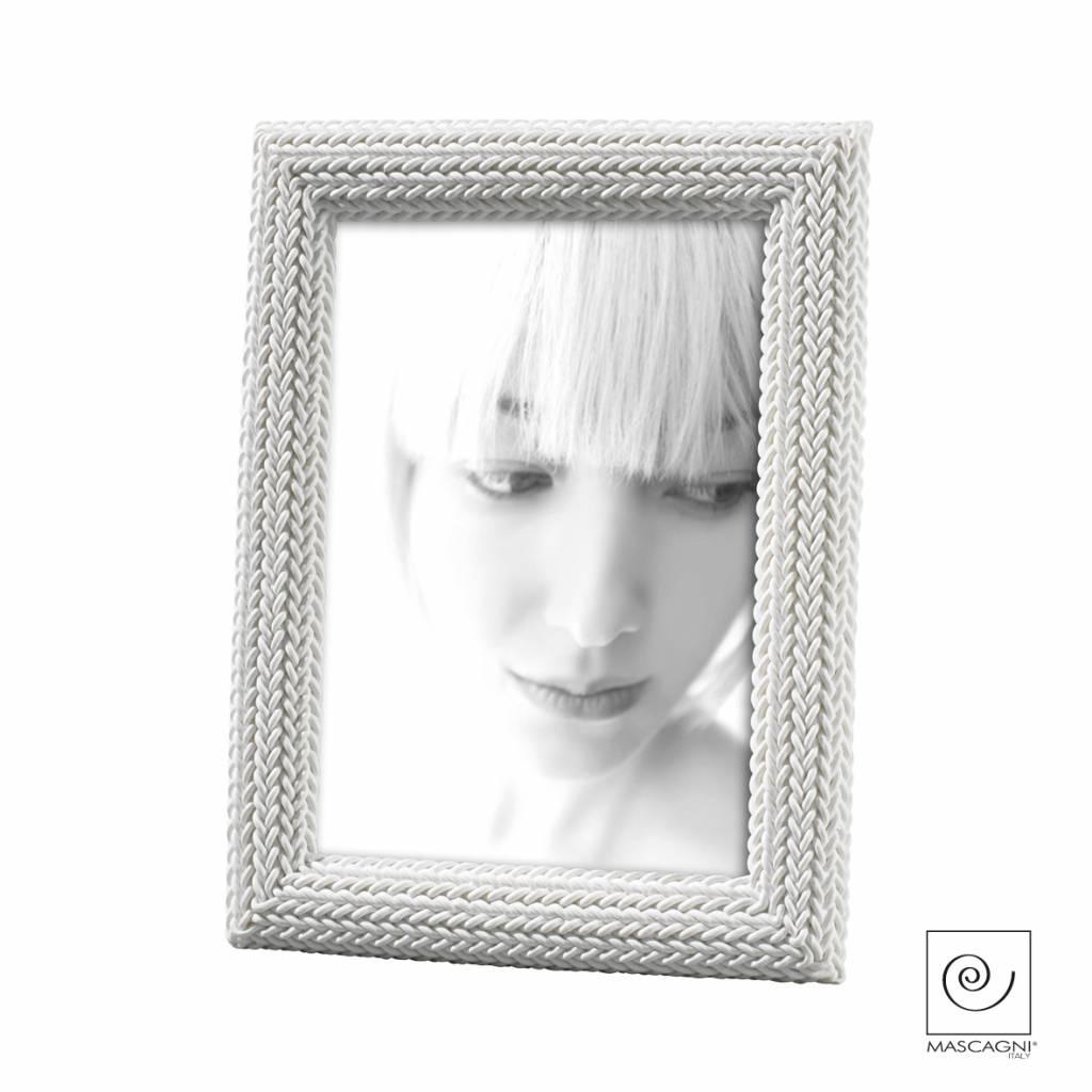 Mascagni A110 kunsthars fotolijst wit