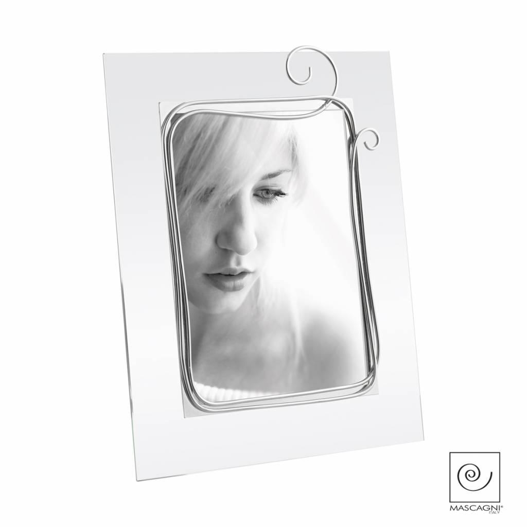 Mascagni A535 glaslijst zilver