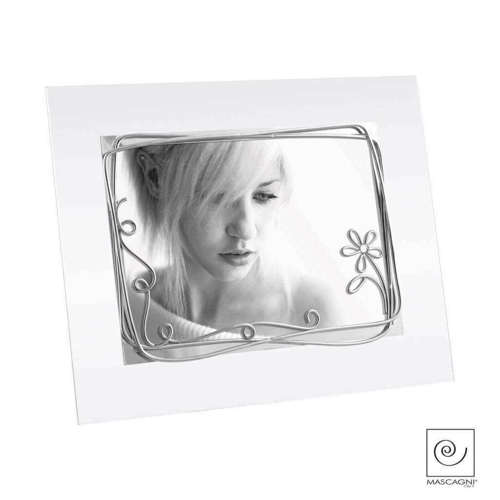 Mascagni A536 glaslijst zilver
