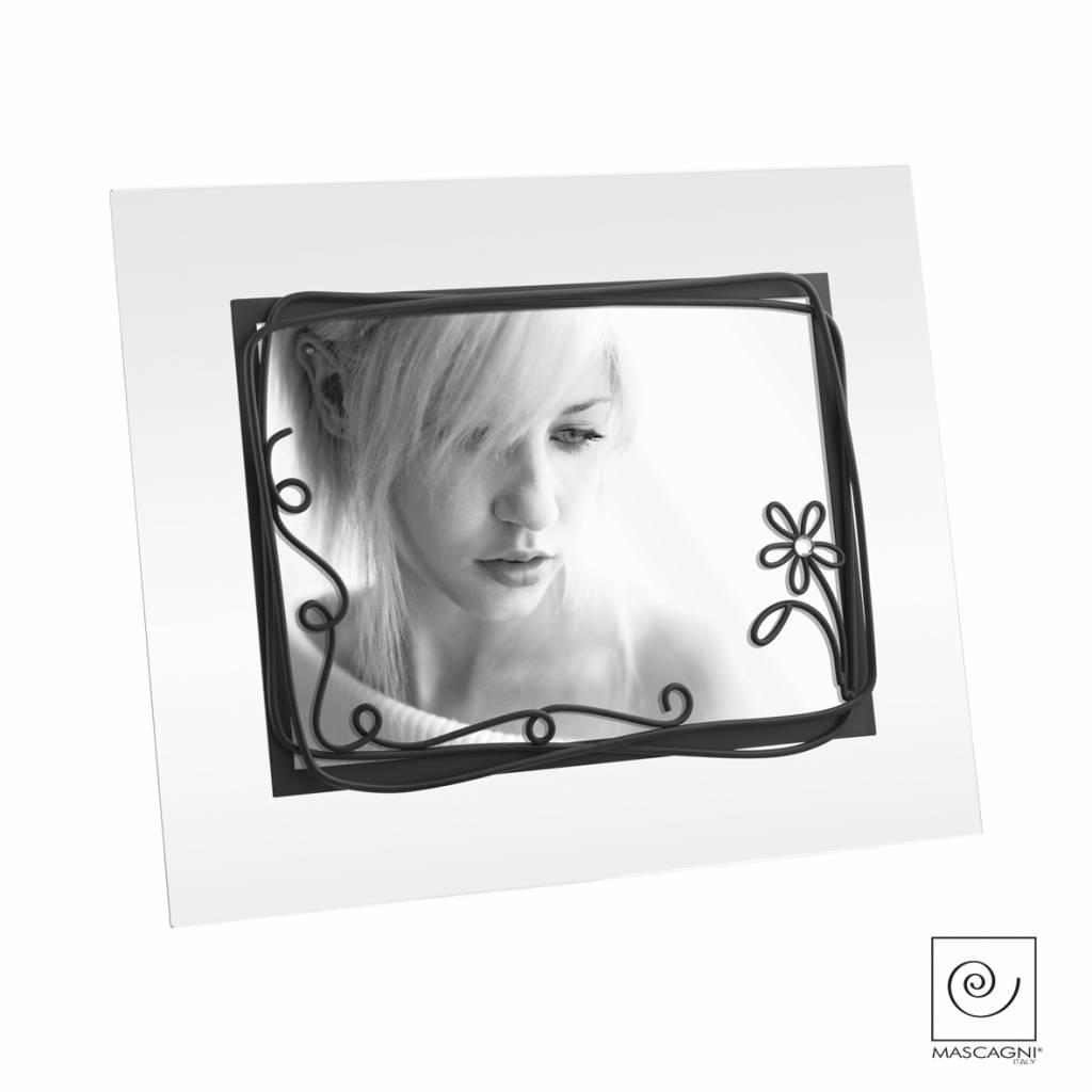 Mascagni A536 glaslijst zwart