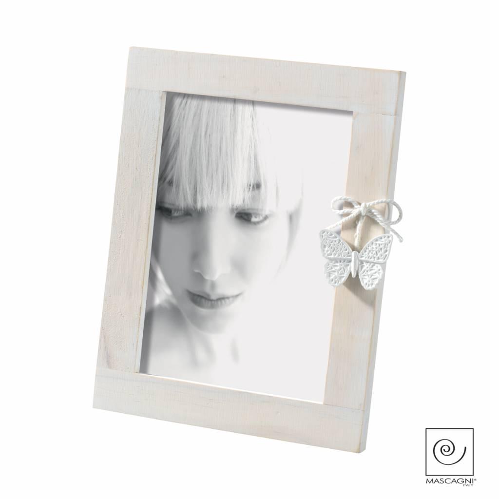 Mascagni A562 houten fotolijst wit