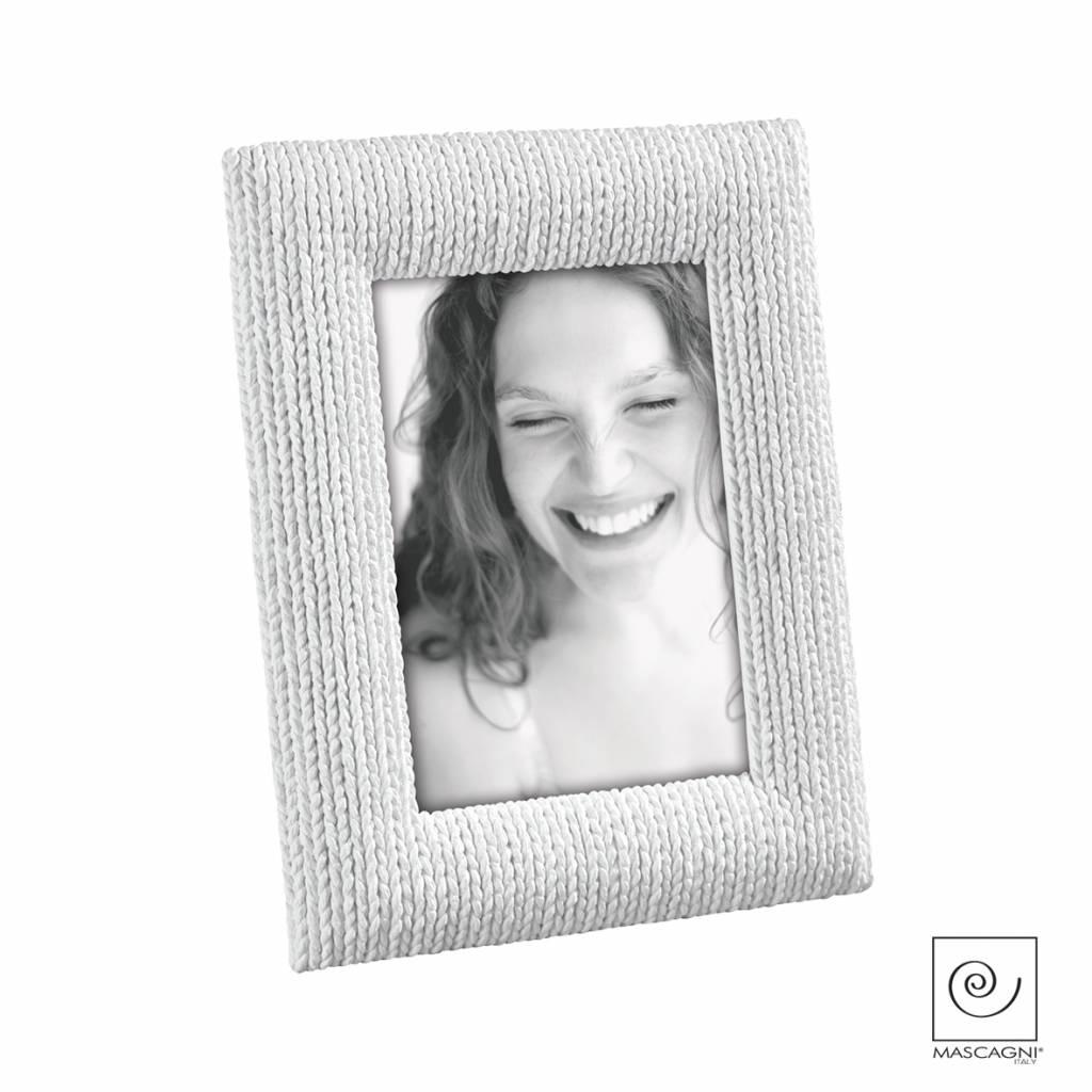 Mascagni A632 kunsthars fotolijst wit