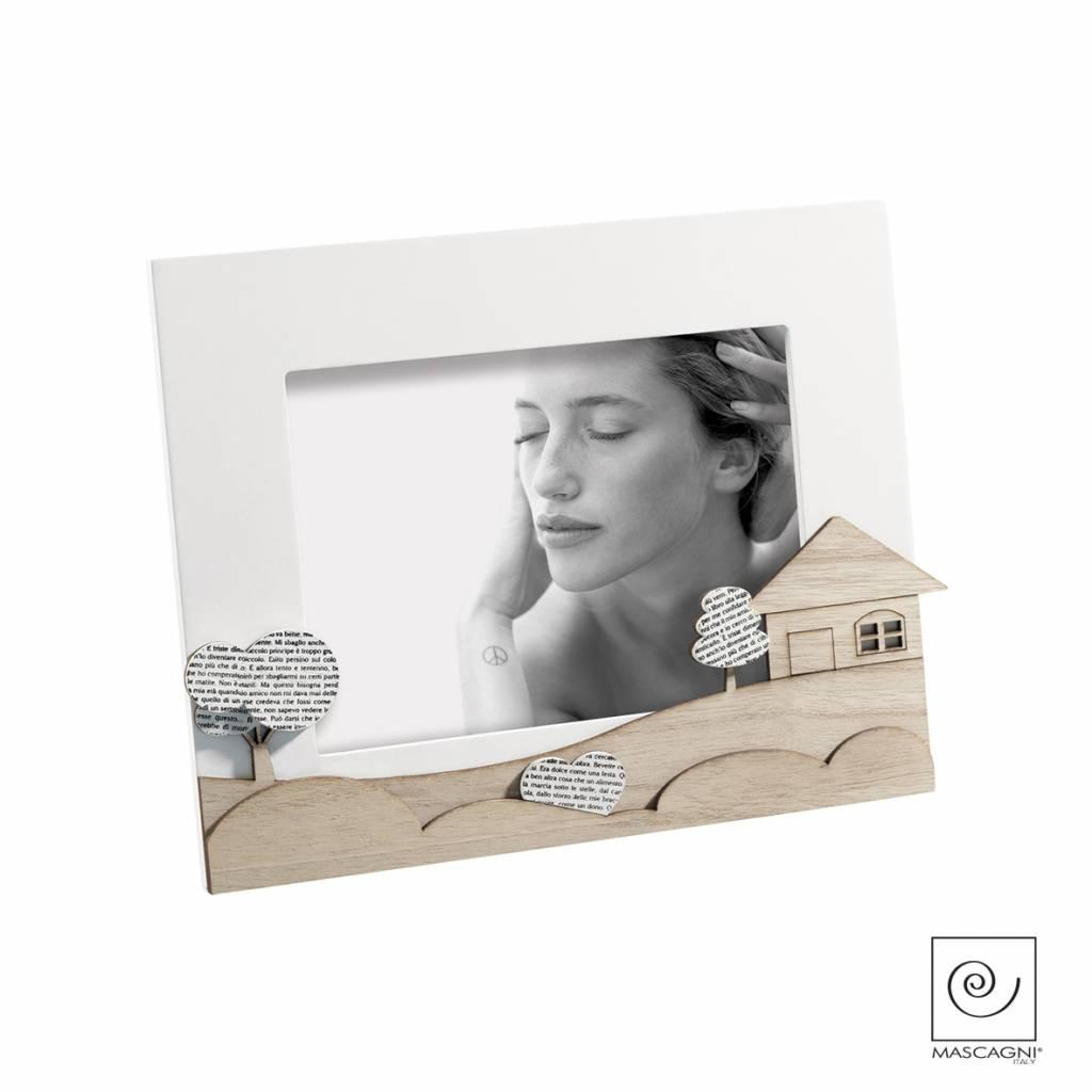 Mascagni A659 houten fotolijst wit