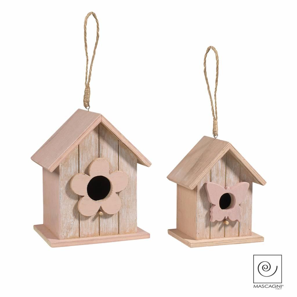 Mascagni A712 set vogelhuisjes