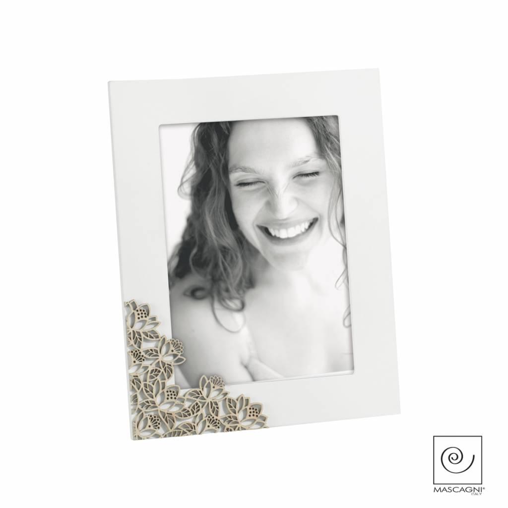 Mascagni A770 houten fotolijst  wit