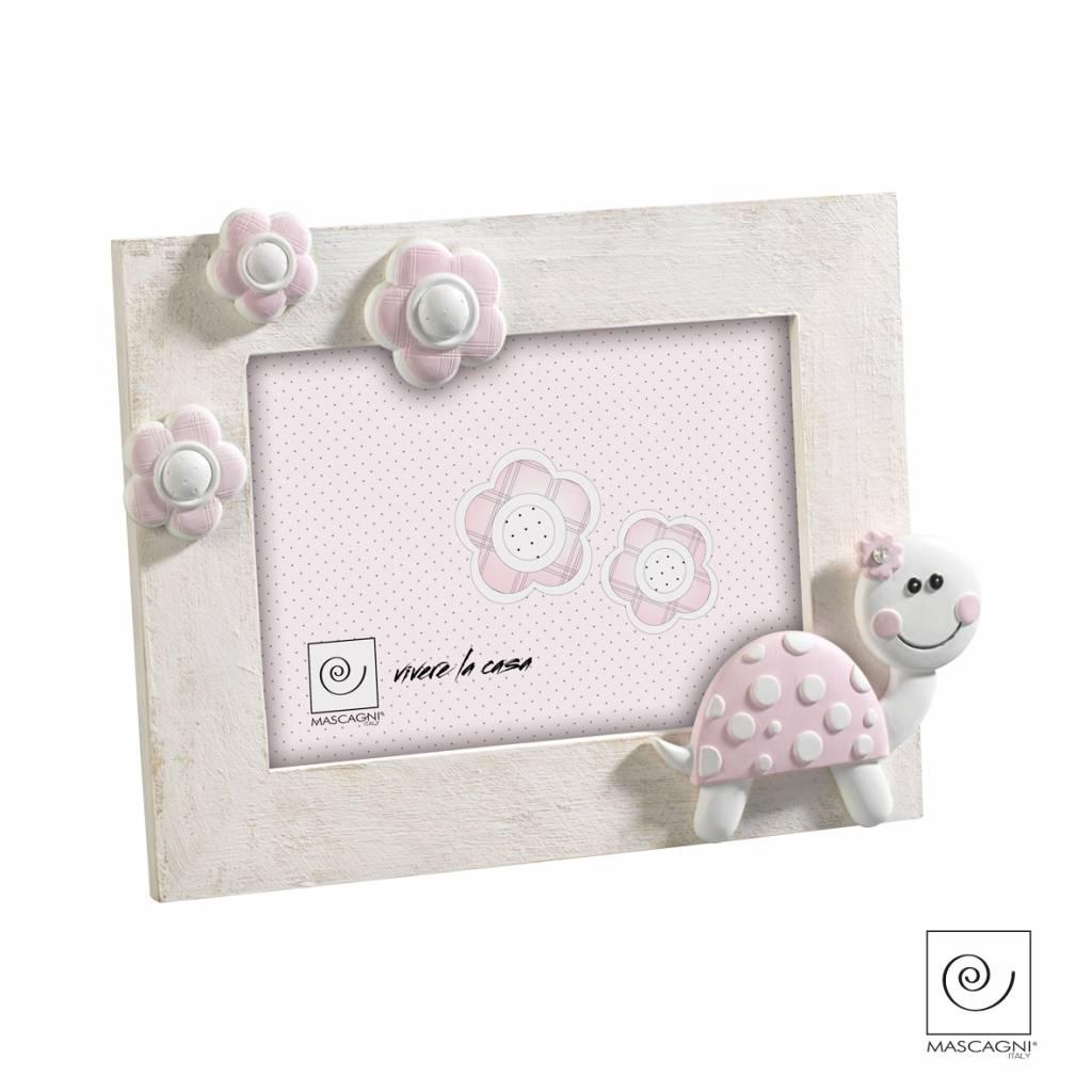 Mascagni A102 houten fotolijst roze