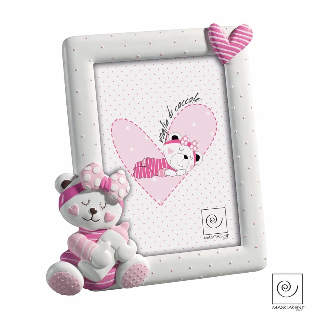 Mascagni A449 kunsthars fotolijst roze