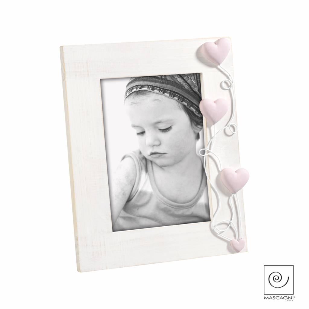 Mascagni A647 houten fotolijst roze