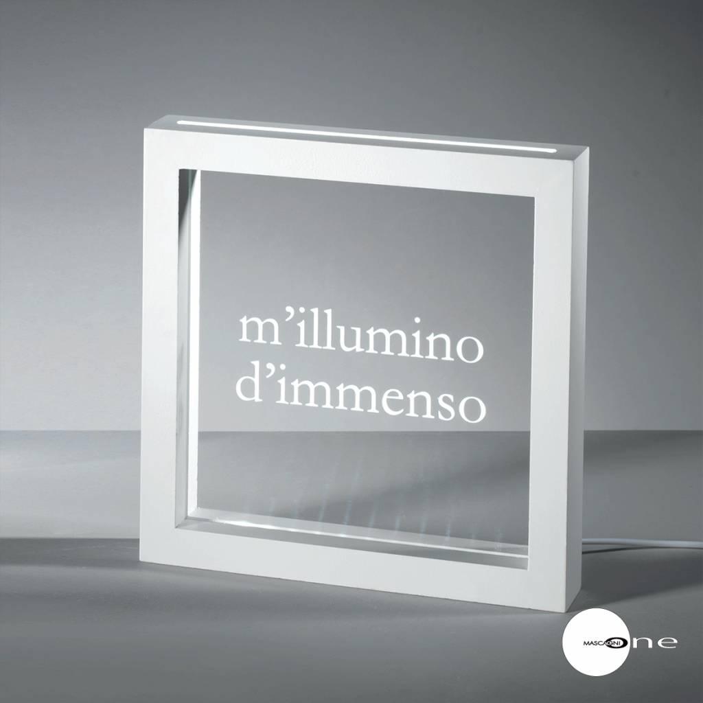 Mascagni One ILLUMINO mdf led-paneel