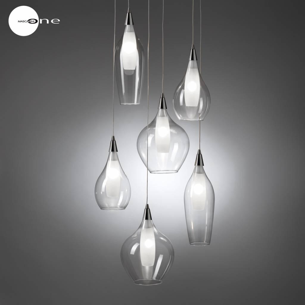 Mascagni One O1045 glazen plafondlamp