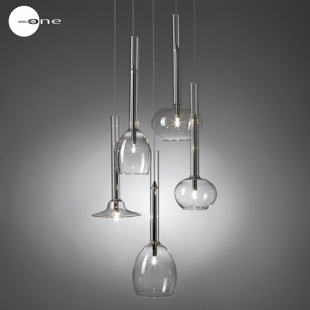 Mascagni One O1046 glazen plafondlamp