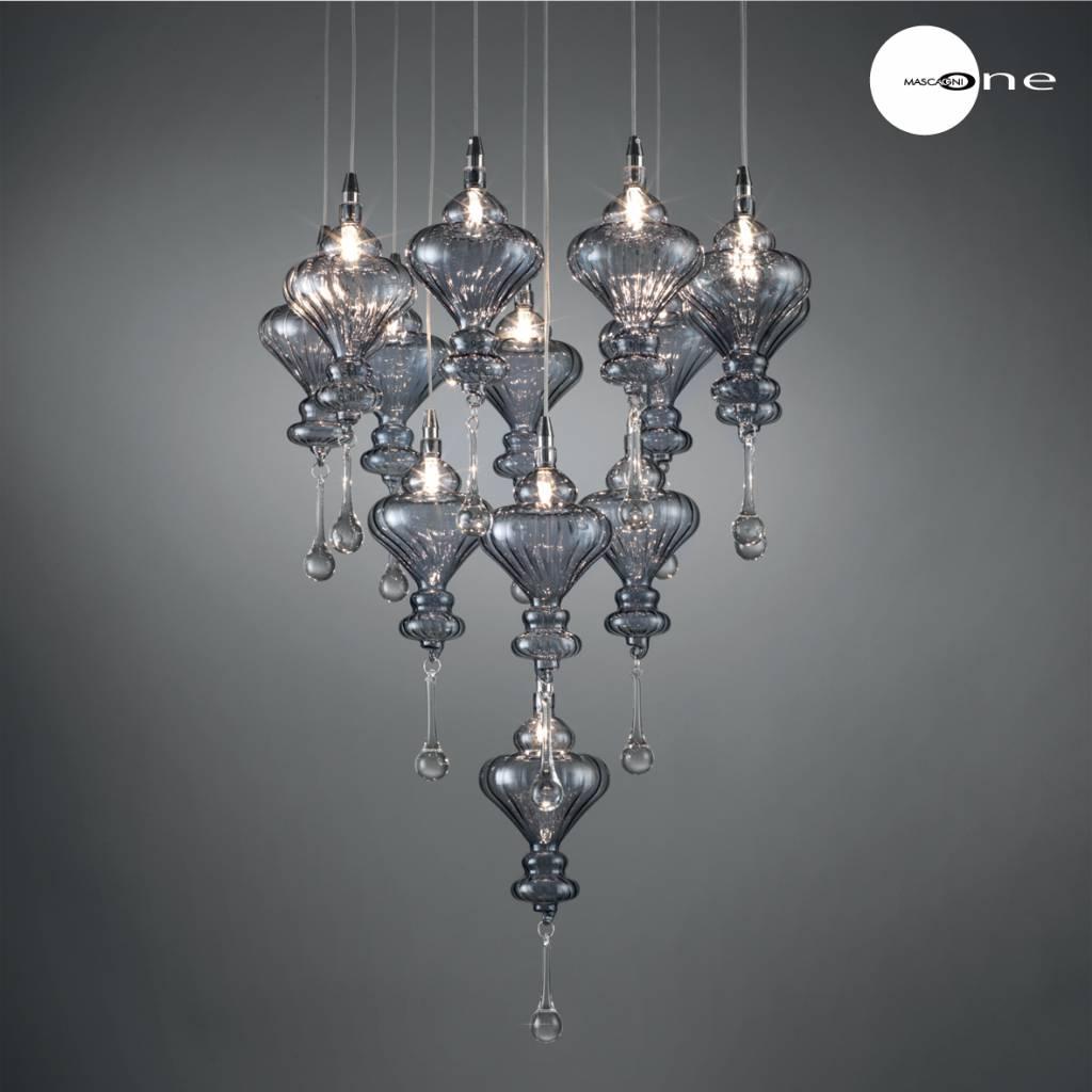 Mascagni One O1191 glazen plafondlamp