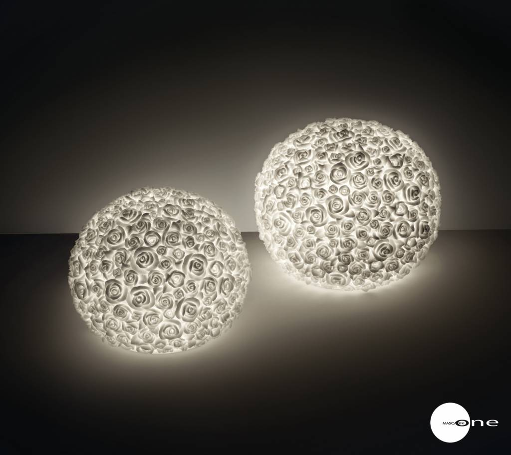 Mascagni One O1352 zandstenen tafellamp