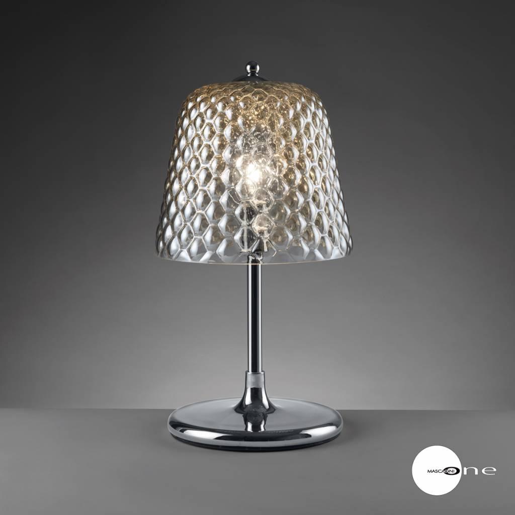 Mascagni One O1402 glazen tafellamp amber