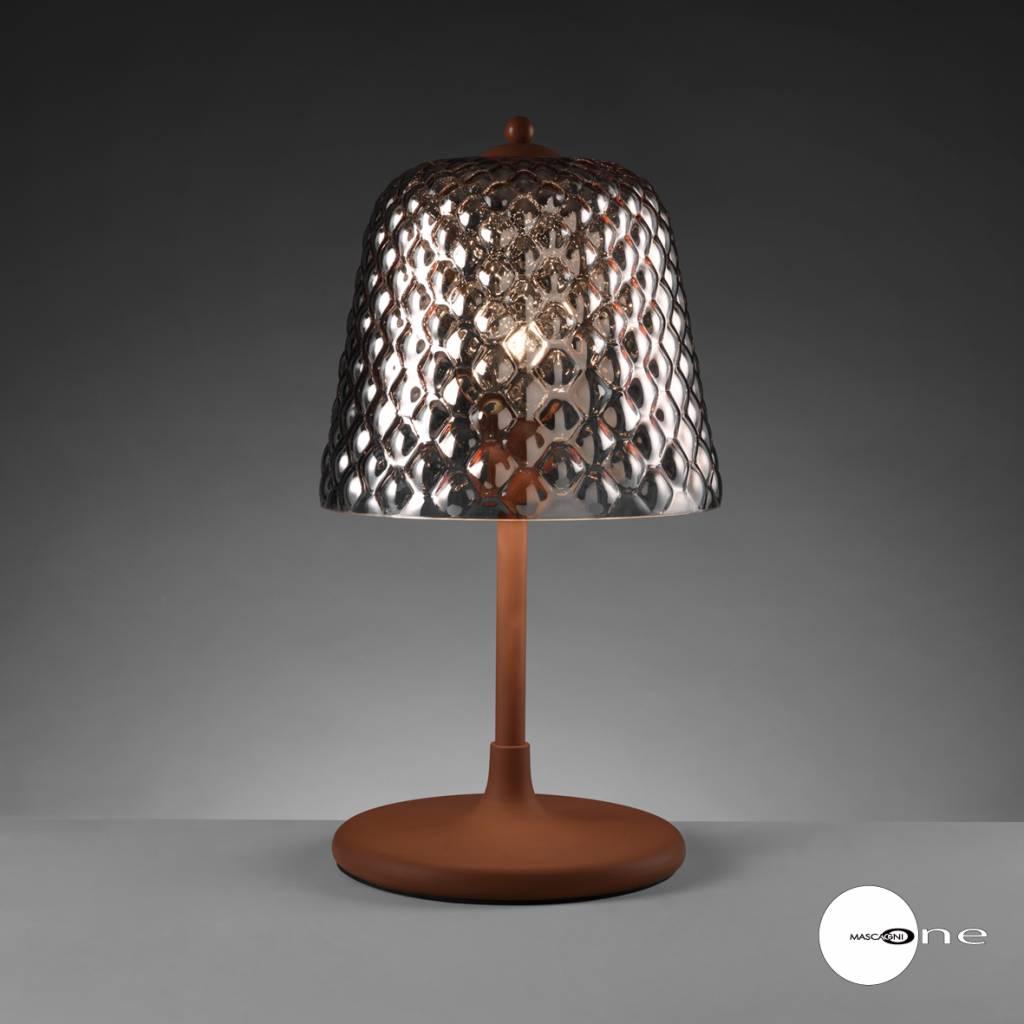 Mascagni One O1402 glazen tafellamp koper
